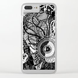 Puzzled Thoughts Clear iPhone Case