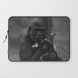 Cheeky Gorilla Lope Mono Laptop Sleeve