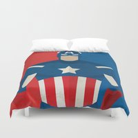 captain silva Duvet Covers featuring Captain  by Loud & Quiet