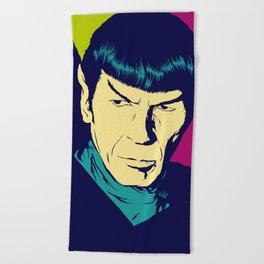 Spock Logic Beach Towel