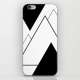 Minimal Mountains iPhone Skin