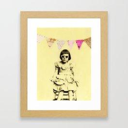"""Partially Amused"" Framed Art Print"