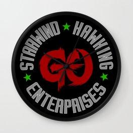 Outlaw Star: Starwind and Hawking Enterprises Wall Clock