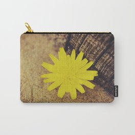 Sand Flower Carry-All Pouch