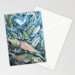 Salmon Stationery Cards