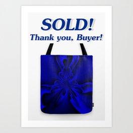 Sold - Midnight Blue 6 Art Print