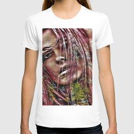 Lebanese Blonde Portrait by Jeanpaul Ferro T-shirt