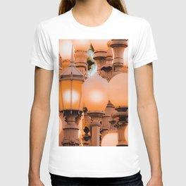 closeup Urban Light LACMA Los Angeles California USA T-shirt