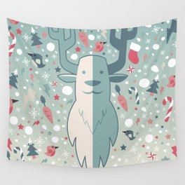 Festive moments 2 - The Reindeer Wall Tapestry