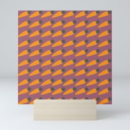 Carrot Patch Mini Art Print