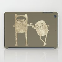 finn and jake iPad Cases featuring Finn & Jake by Laela's Heart