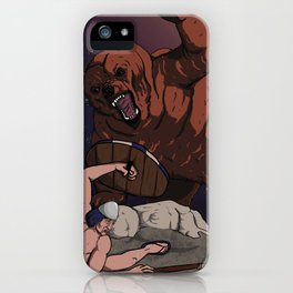 Savagery iPhone Case