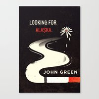 looking for alaska Canvas Prints featuring Looking for Alaska by Risa Rodil