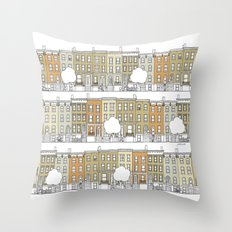 Brooklyn (color) Throw Pillow