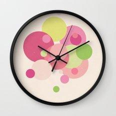 Balloons//Five Wall Clock