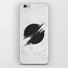 The Sun Is Black iPhone Skin