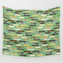 Dogalogs (grass version) Wall Tapestry