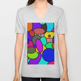 Smarties Galore Unisex V-Neck