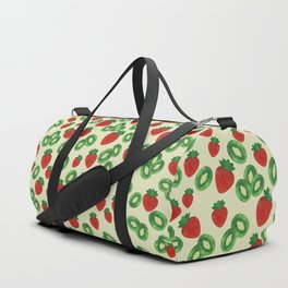 Strawberries and Kiwis Duffle Bag