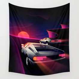 Cliffside Racers Wall Tapestry
