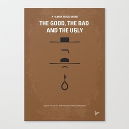 No090 My The Good The Bad The Ugly MMP Canvas Print