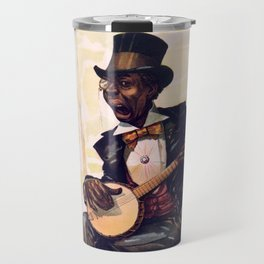 Banjo player Travel Mug