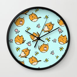 Kawaii Cats Wall Clock