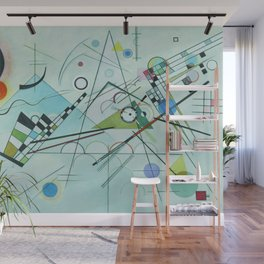 Vassily Kandinsky Composition VIII, 1923 Wall Mural