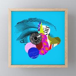 Let's Talk Framed Mini Art Print