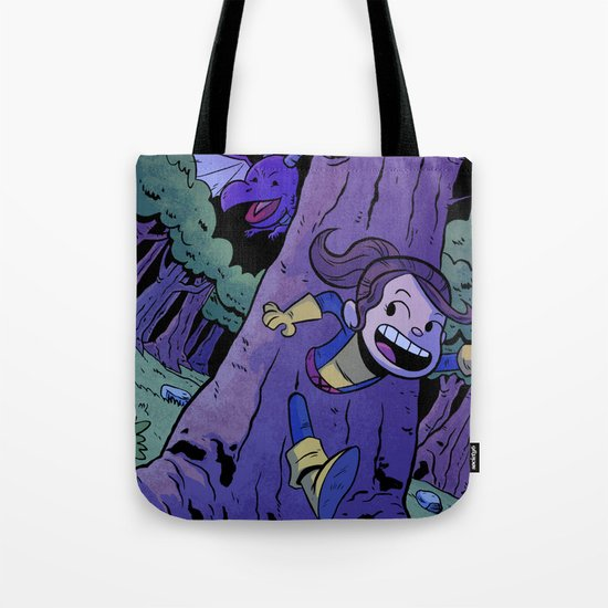 Run Kitty Run! Tote Bag
