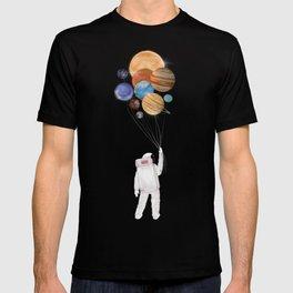 balloon universe T-shirt