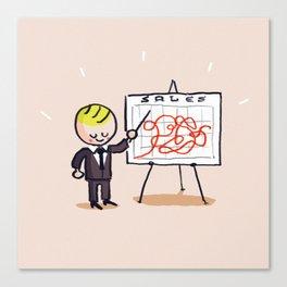 Sales Canvas Print
