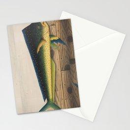Mahi-Mahi Fish artwork Stationery Cards
