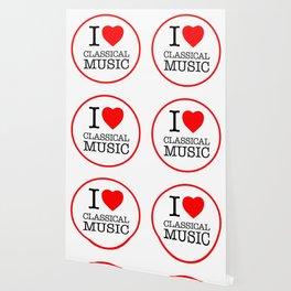 I Love Classical Music, circle Wallpaper