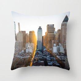 Beautiful NYC Throw Pillow