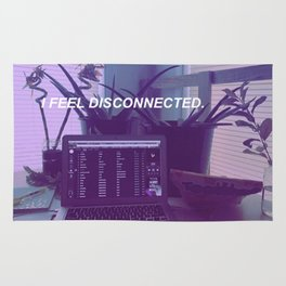 I feel Disconnected Rug