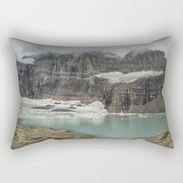 Grinnell and Salamander Glaciers, Soon Things of the Past Rectangular Pillow