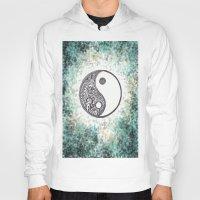 yin yang Hoodies featuring Yin & Yang by Hope