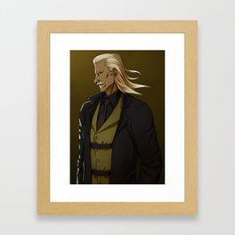Liquid Ocelot Framed Art Print