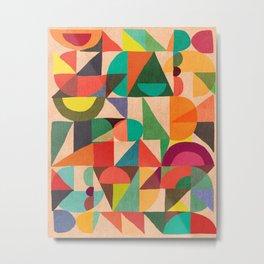 Color Field Metal Print
