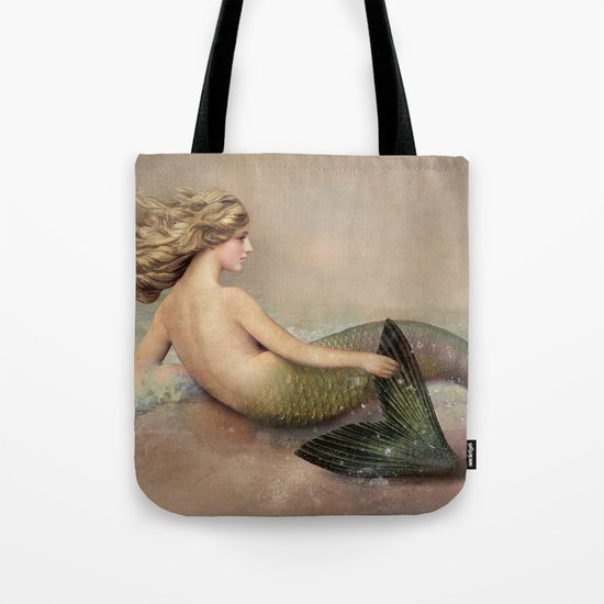 Her Ocean Tote Bag