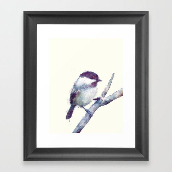 Bird // Trust Framed Art Print