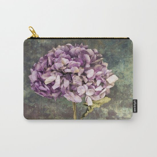 Beautiful Hydrangea Carry-All Pouch