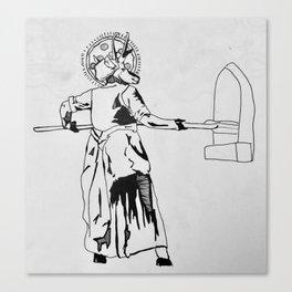 Za-telope Canvas Print