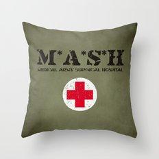 MASH Throw Pillow