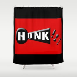 Honk!!! Shower Curtain
