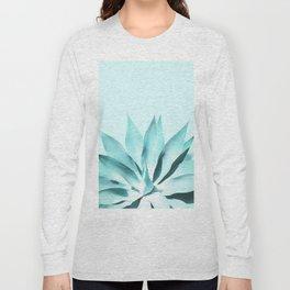 Aqua Solar Agave Long Sleeve T-shirt