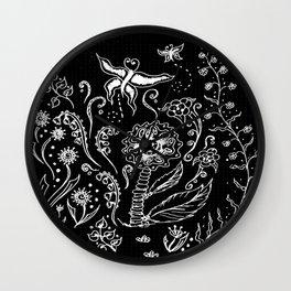 Flower Tangle Wall Clock