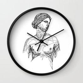 Aphrodite Greek Goddess Wall Clock