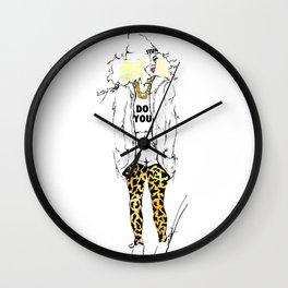 #STUKGIRL Estephanie Wall Clock